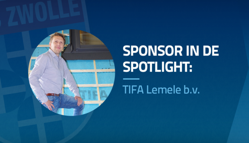 Sponsor in de spotlight